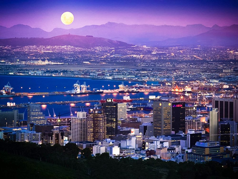 Find a list of South African Cities